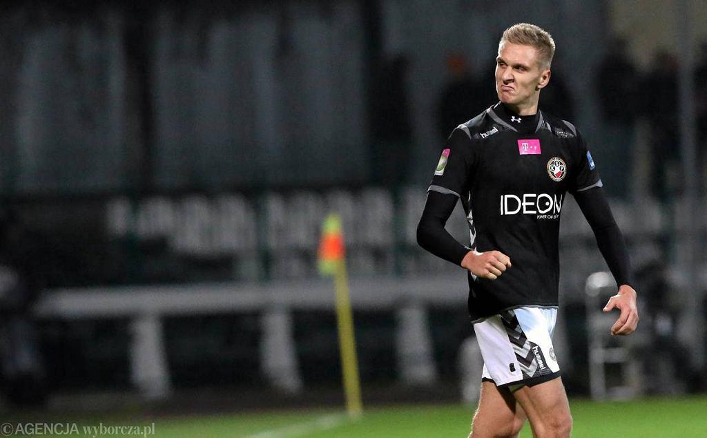 Łukasz Teodorczyk zdobył obydwa gole dla Polonii w wygranym 2:0 meczu z Koroną w Warszawie
