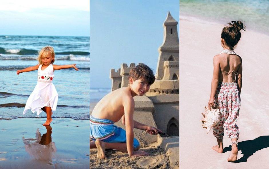Z dzieckiem nad morzem