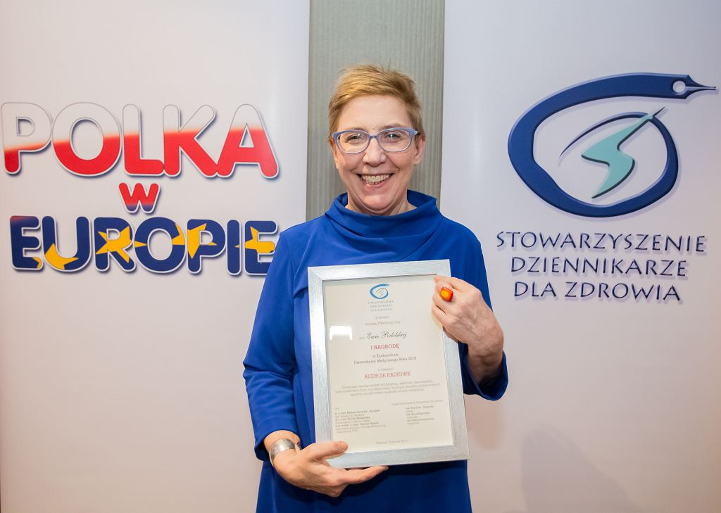 Ewa Podolska z nagrodą