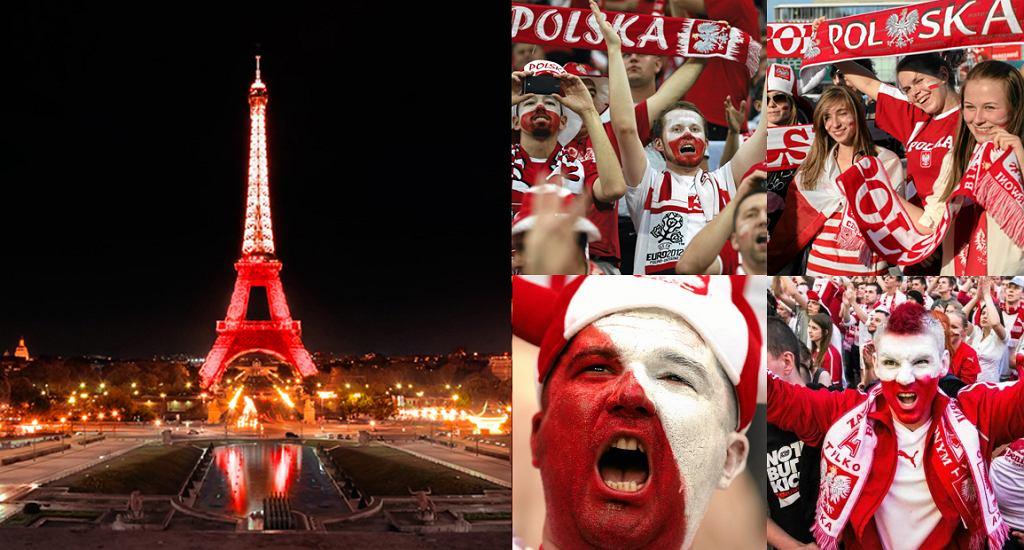 Pokażmy, że jesteśmy najlepszymi kibicami na świecie i wspólnie podświetlmy wieżę Eiffla na biało-czerwono!