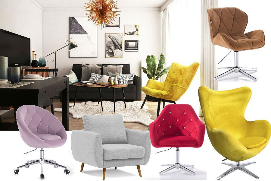 Welurowe fotele