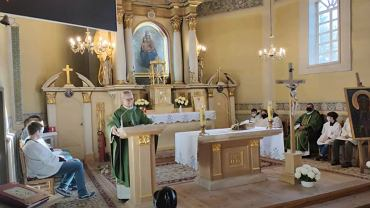 Msza w Korczewie