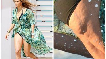 Jennifer Lopez, która regularnie uprawia sport i cieszy się świetną sylwetką, także walczy z cellulitem