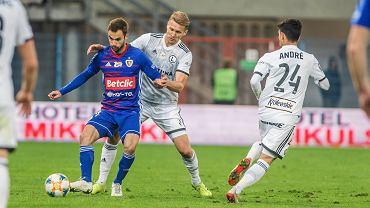 Piast Gliwice w meczu z Legią Warszawa