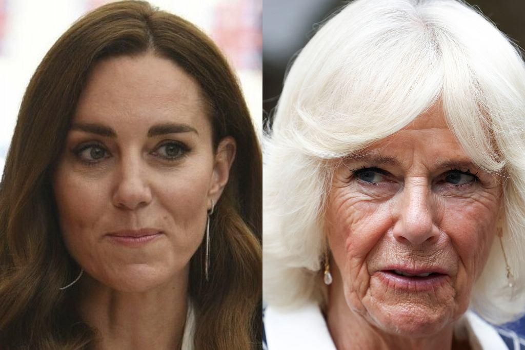 Księżna Kate / księżna Camilla