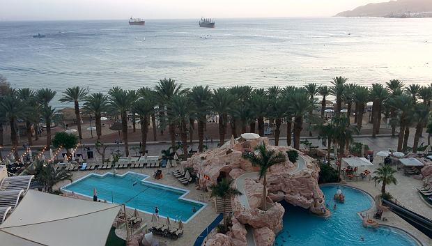 Ejlat, jedyne izraelskie miasto nad Morzem Czerwonym.