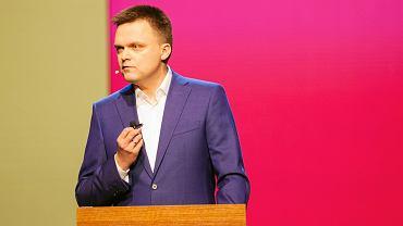 Szymon Hołownia w Gdańsku olsza start w wyborach prezydenckich