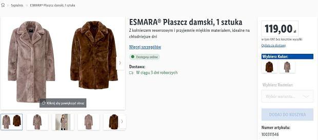 Lidl sprzedaje hitowy płaszcz za mniej niż 120 zł. To hit na ten sezon! Podobnie kupicie w sieciówkach za dużo więcej