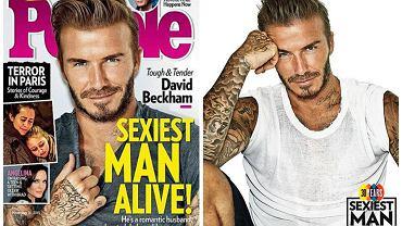 David Beckham najseksowniejszy na świecie