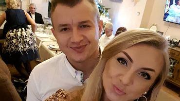 Dawid Narożny z żoną Joanną