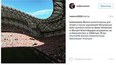 Instagram Romana Kołtonia