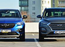 Opinie Moto.pl: Opel Grandland X 2.0 CDTi vs. Hyundai Tucson 2.0 CRDi - Diesel w SUV-ach ma się dobrze