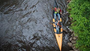 Spływ kajakowy - zdjęcie ilustracyjne