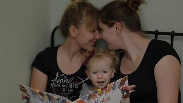 Kasia i Ewelina wspólnie wychowują córkę
