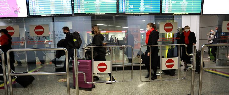 Jest rozporządzenie ws. kwarantanny dla podróżnych z Indii, Brazylii i RPA