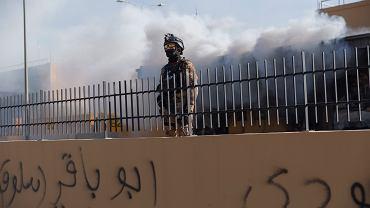 Żołnierze chroniący ambasady USA w Bagdadzie, zdj. ilustracyjne