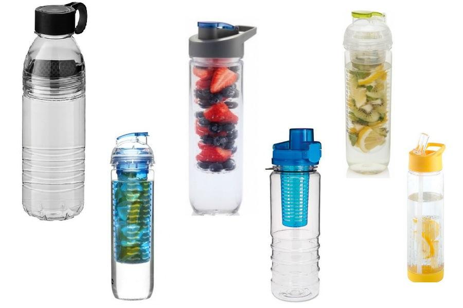 Trend: Butelka z pojemnikiem na owoce
