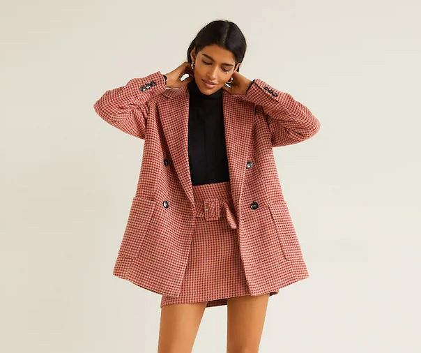 f79e304ad510e Moda 2019: różowy zestaw Mango hitem Instagrama | Moda i Trendy