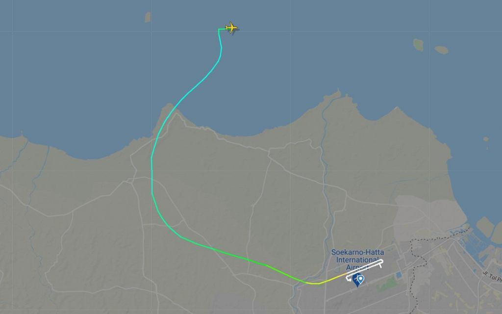 Lot SJ182 Sriwijaya Air zniknął z radarów