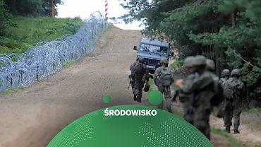 Nowy płot na granicy Polski i Białorusi