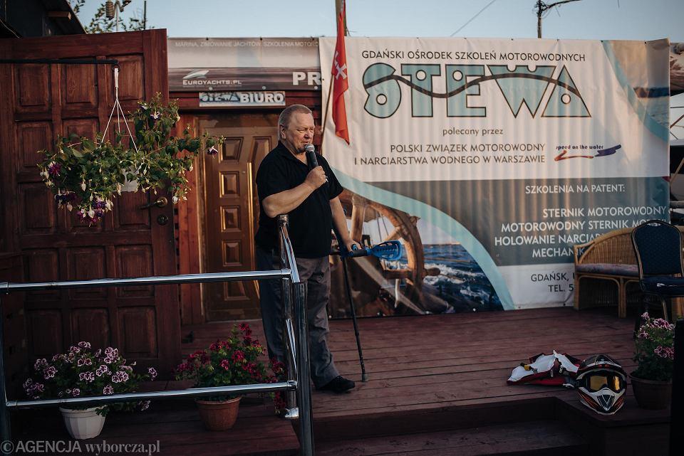 Zdjęcie numer 4 w galerii - Niepełnosprawny przepłynął skuterem wodnym z Warszawy do Gdańska