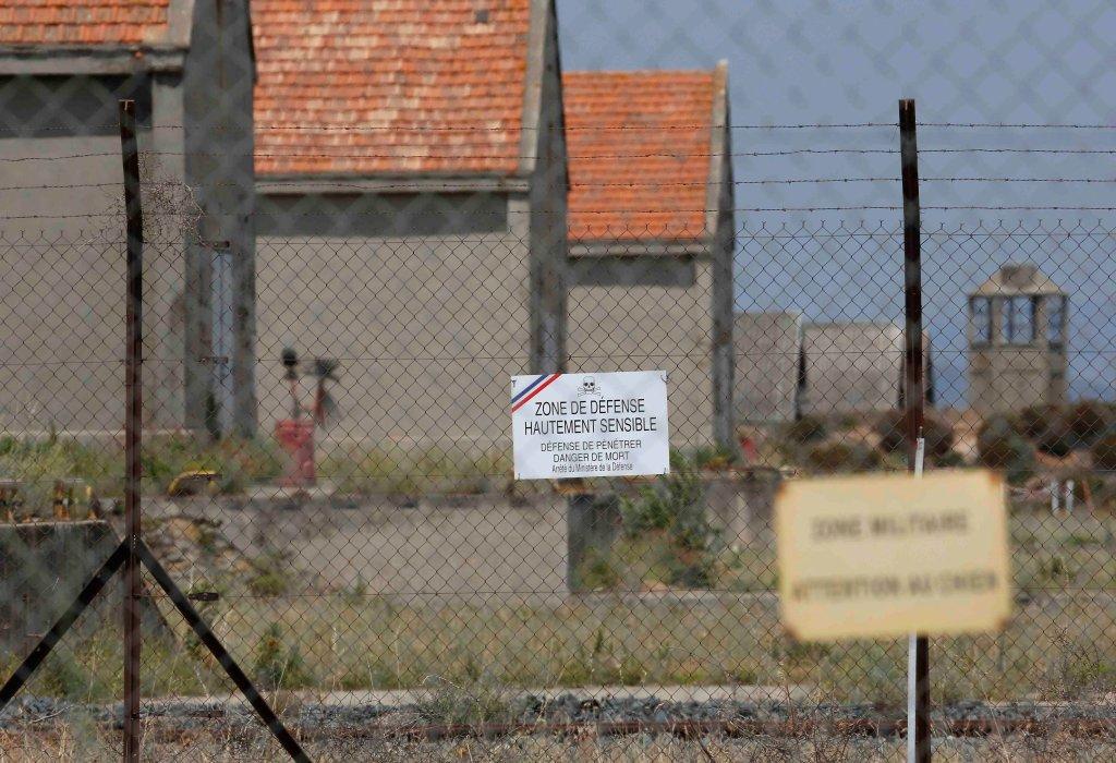 Baza wojskowa w Miramas