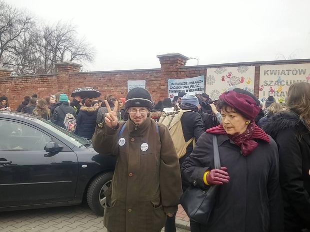 Protesty kobiet w Warszawie
