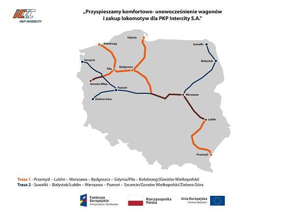 Mapka połączeń