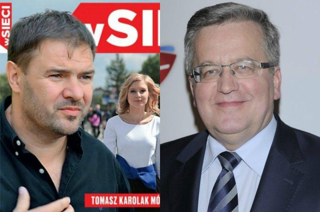 Tomasz Karolak, Bronisław Komorowski