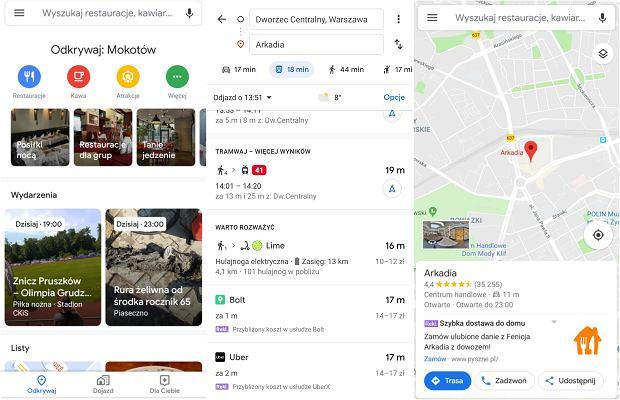 Reklamy w Mapach Google