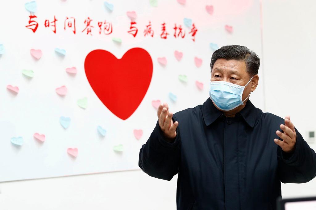 Chiny, koronawirus i Xi Jinping.