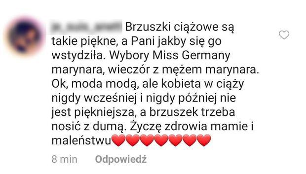 Fanka Anny Lewandowskiej krytykuje ciążowy styl trenerki