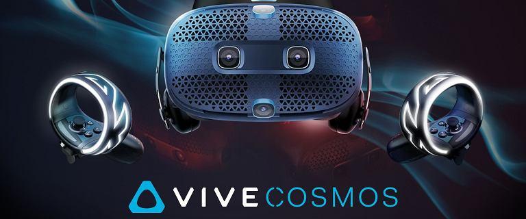 HTC rozwija serię gogli VR Vive Cosmos. Wreszcie pojawił się tańszy model
