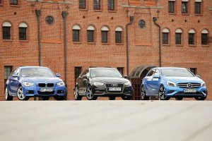 Audi A3 vs. BMW serii 1 vs. Mercedes klasy A   Konfrontacja