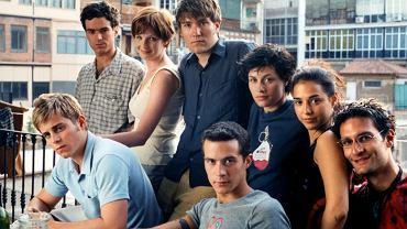 Kadr z filmu 'Smak życia' o mieszkających w Barcelonie studentach z Erasmusa