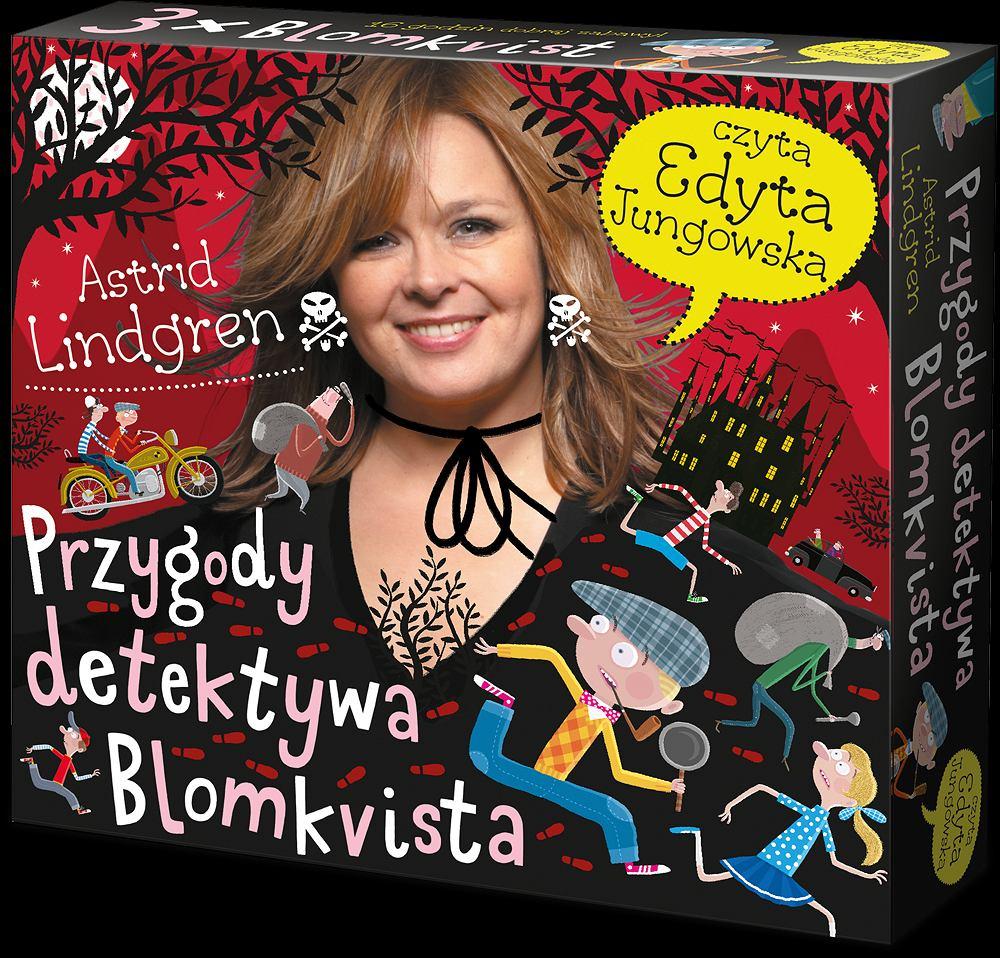 Box audiobooków Przygody Detektywa Blomkvista / materiały prasowe