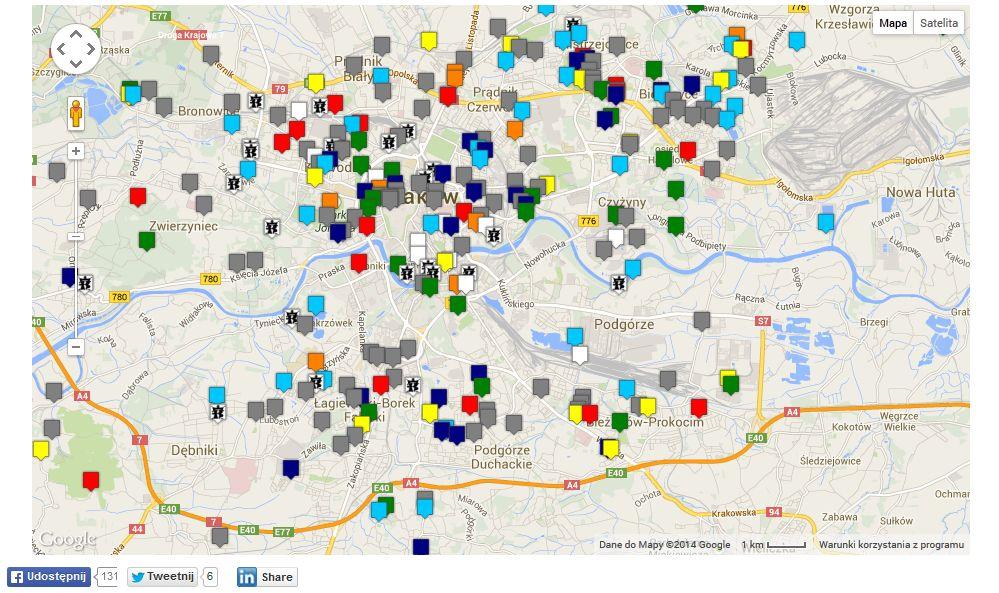 Gowin Prezentuje Interaktywna Mape Potrzeb Krakowa
