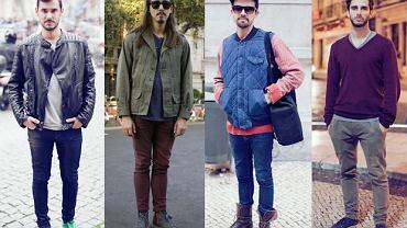 Street fashion: moda męska