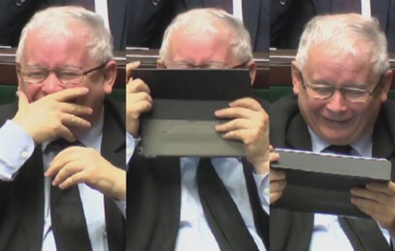 Prezes Kaczyński w Sejmie