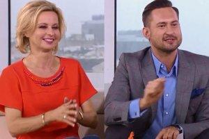 Jolanta Pieńkowska i Marcin Prokop
