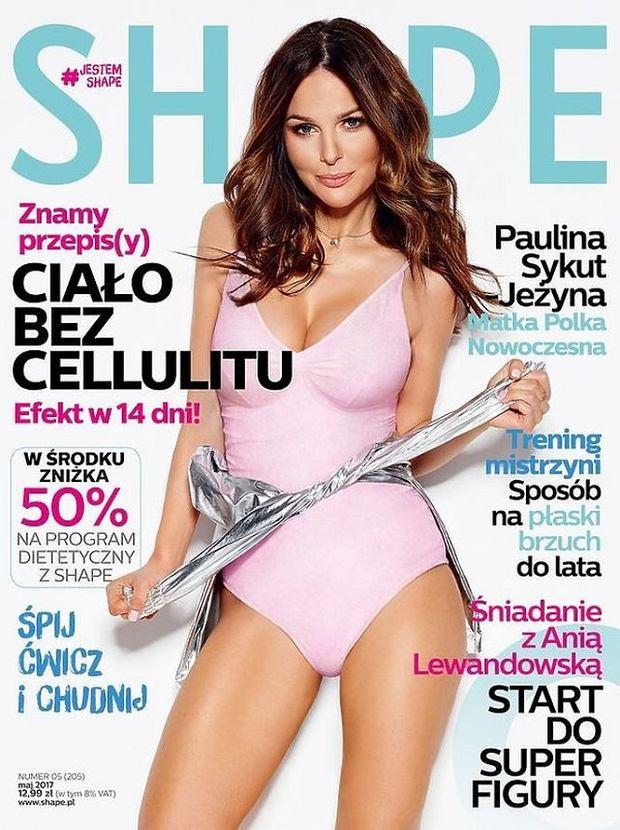 Paulina Sykut na okładce 'Shape'