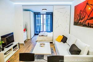 Kolorowe i pełne energii mieszkanie we Wrocławiu