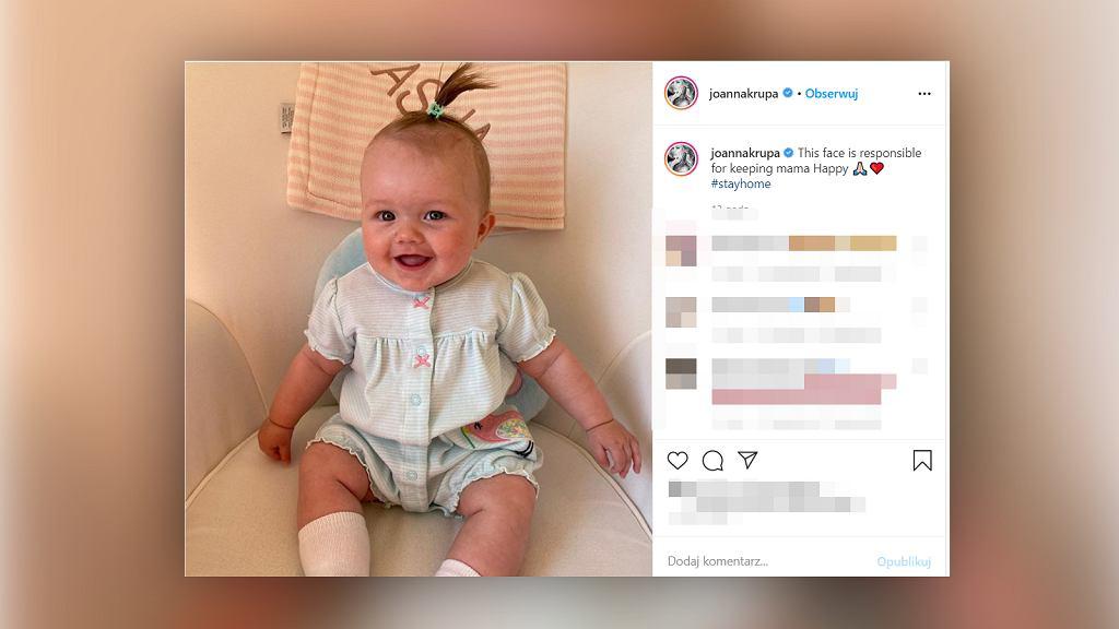 Joanna Krupa opublikowała nowe zdjęcie córeczki.