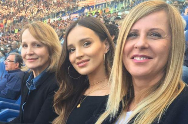 Marina Łuczenko-Szczęsna z mamą i teściową