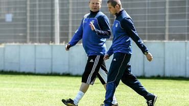 Piotr Rzepka na zdjęciu z Robertem Wilczyńskim
