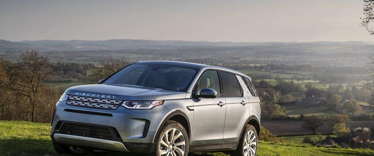 Nowy Land Rover Discovery Sport - nowa stylistyka, systemy i miękkie hybrydy