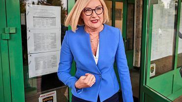 Eurowybory 2019. Głosuje Joanna Kopcińska