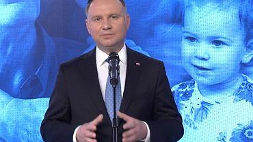 Prezydent Andrzej Duda, 20.04
