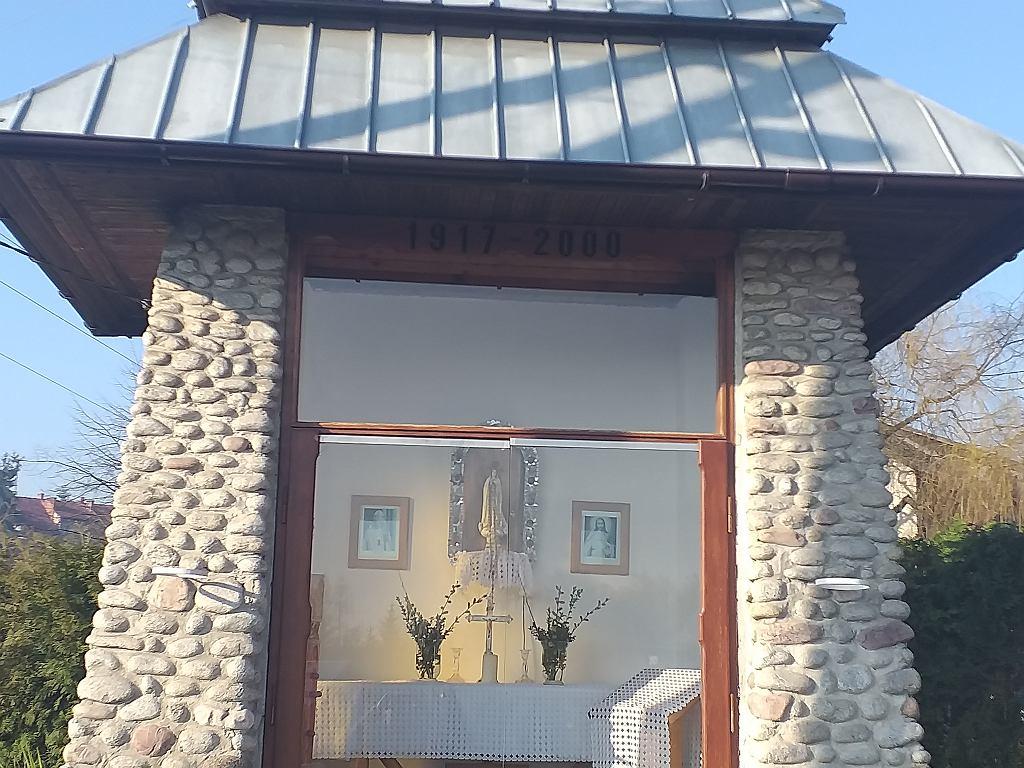 Kapliczka, której budowę sfinansowali mieszkańcy
