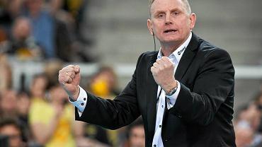 Trener Jacek Nawrocki